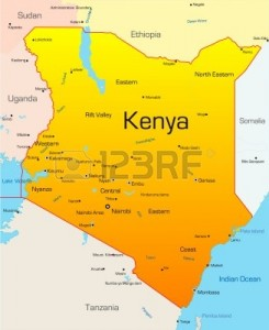 Nairobi, Kenya map